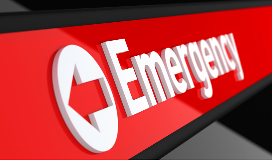 Emergency room in the Munster, Indiana area